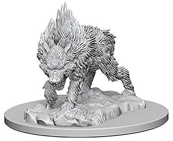 Pathfinder Deep Cuts Unpainted Miniatures  Wave 4  Dire Wolf