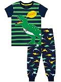 Harry Bear Jungen Dinosaurier Schlafanzug Slim Fit Blau 116