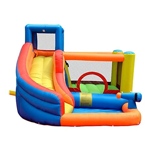 Zhihao Aufblasbare Außenwasserrutsche mit Pool und Gun Slide Bouncer Castle Waterslides for Kinder