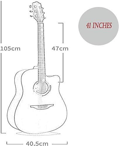 Guitarra de los niños Guitarra acústica clásica Tamaño Total de 6 ...