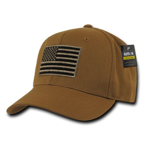 RAPDOM Tactical USA Embroidered Operator Cap  Coyote