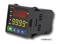 Lightobject ETC-JLD612-DC Dual Display Fahrenheit and Celsius PID Temperature Controller, DC 12V-30V by Lightobject