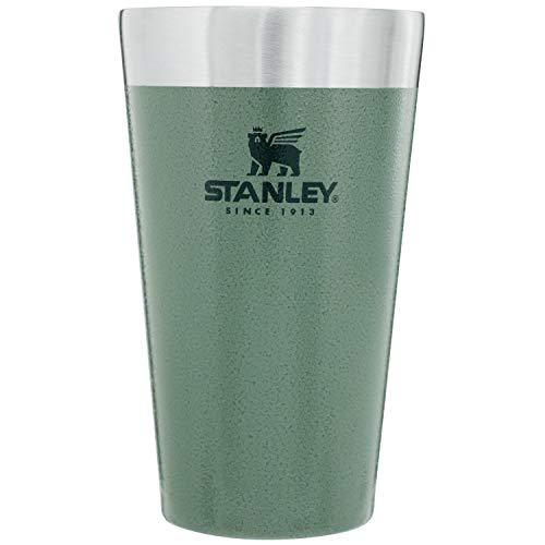 STANLEY(スタンレー) 新ロゴ スタッキング真空パイント 0.47L グリーン 保温 保冷 ビール タンブラー アウ...