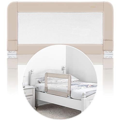 reer 45087 Bettgitter Sleep'n Keep, 100 cm Länge, beige