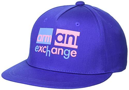 A|X Armani Exchange - Gorra de béisbol para mujer, Zafiro zafiro, Talla única