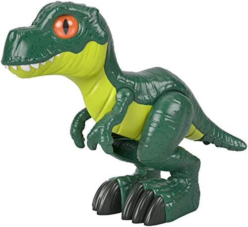 Fisher Price Imaginext Jurassic World T Rex XL 9 5 inch dinosaur figure for preschool kids ages product image