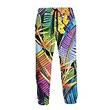 Hangdachang Acuarela Tropical Jungle Nature Illustration Joggers Pantalones Divertidos Pantalones...