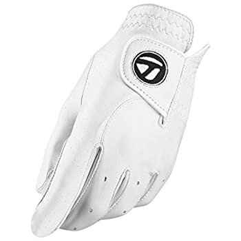 TaylorMade Tour Preferred Cadet Glove  White Large  White Large Worn on Left Hand