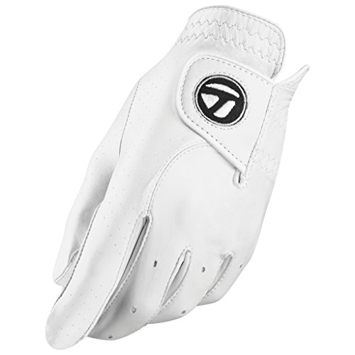 TaylorMade Tour Preferred Handschuh, Herren, N6403020, weiß, Medium