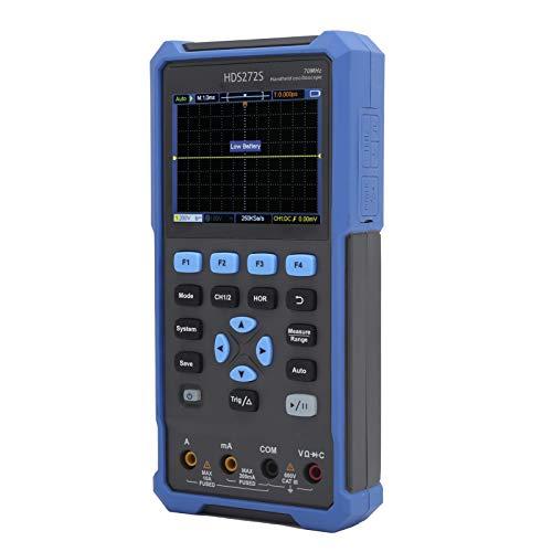Osciloscopio De Mano HDS272S Generador De Forma De Onda Generador De Fuente De Señal De Multímetro Interfaz Estándar USB TYPE-C