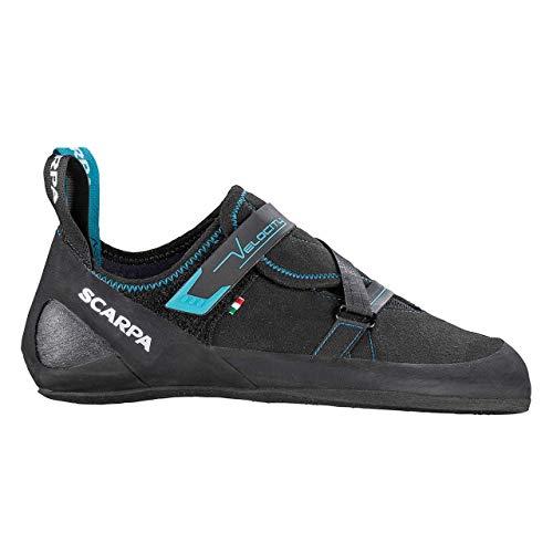 Scarpa Velocity Kletterschuhe Herren Black/Ottanio Schuhgröße EU 42,5 2020 Boulderschuhe