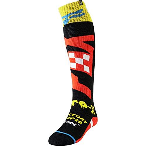 socks Fox Fri Thin Czar Black/Yellow L