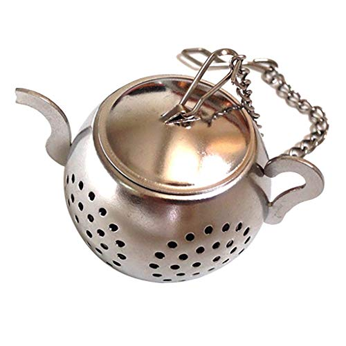 jieGorge Stainless Steel Loose Tea Infuser Leaf Strainer Filter Diffuser Herbal Spice , Kitchen,Dining & Bar , Products for Christmas