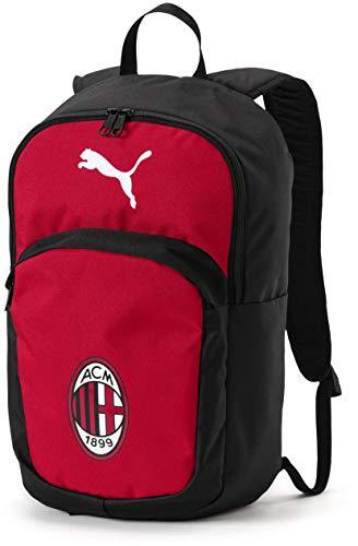 PUMA Mens AC Milan Licensed Backpack One Size, Tango Red/PUMA Black