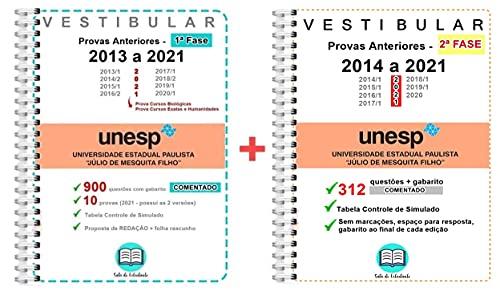 Unesp 1º e 2º Fase + Gabarito COMENTADO - Atualizada 2021!