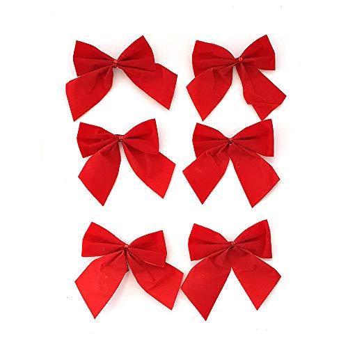 Schone Products (UK) - Fiocco di Natale, confezione da 6