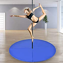 Pole Dance crash mat blue