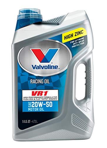 Valvoline VR1 Racing SAE 20W-50 Motor Oil 5 QT