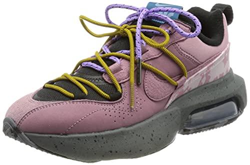 Nike W Air MAX Verona 2.0, Zapatillas para Correr Mujer, Black Plum Dust Dk Citron Green Abyss Habanero Red Iron Grey, 38 EU