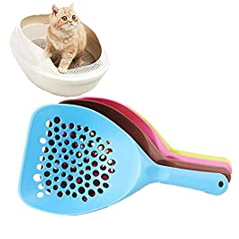 DC CLOUD Cat Litter Scoop Cat Litter Scoop Shovel Cat Litter Shovel Durable Cat Litter Scoop Pooper Scooper Cats Plastic Litter Scoop Cat Scooper