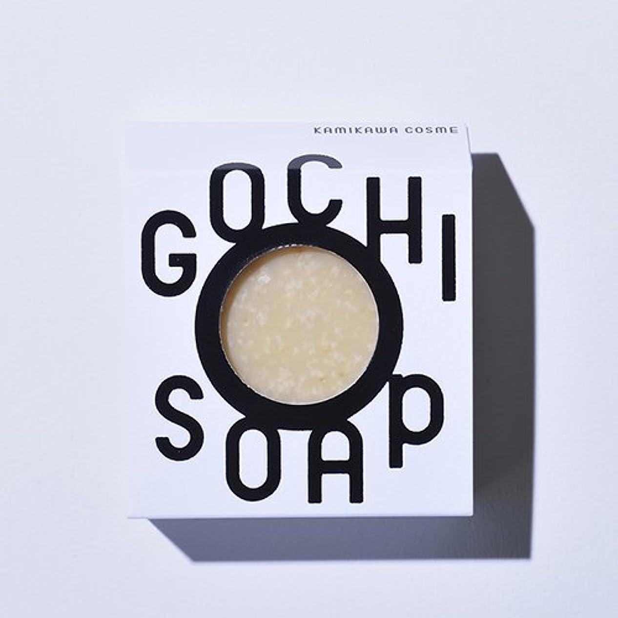 アクション他の日雇用GOCHI SOAP ゴチソープ ふじくらますも果樹園のりんごソープ