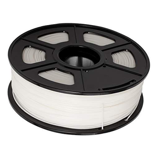 P Prettyia Sanlu 1.75 Mm 3D ABS Filament For 3D Printer Tolerance + / 0.02 Mm 1 Kg - White, 200x200x64mm