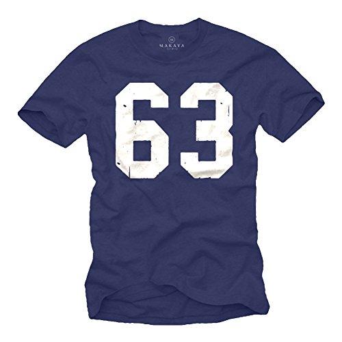 Mücke 63 T-Shirt für Herren - XXXXL