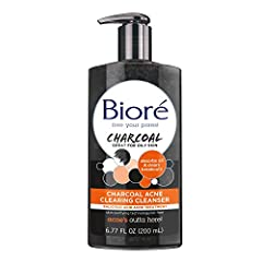 Purify your pores - Infused with natural charcoal & deep cleans pores for balanced purification. Clears pores & helps prevent blemishes - With natural charcoal and Biore skin purifying technology, our acne cleanser helps to clear pores and prevent th...