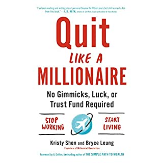 Quit Like a Millionaire audiobook cover art