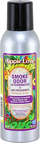 Tobacco Outlet Products Smoke Odor Exterminator 7oz Large Spray, Hippie Love, 7 Ounce