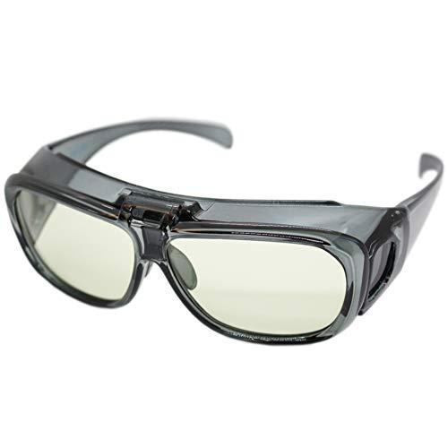 (エイトトウキョウ)eight tokyo ブルーライトカット メガネ タイプ ルーペ 跳ね上げ メガネの上から メンズ レディース UVカット 近赤外線カット 高性能レンズ [ 鯖江メーカー企画 ] HANE-LOUPE-SM