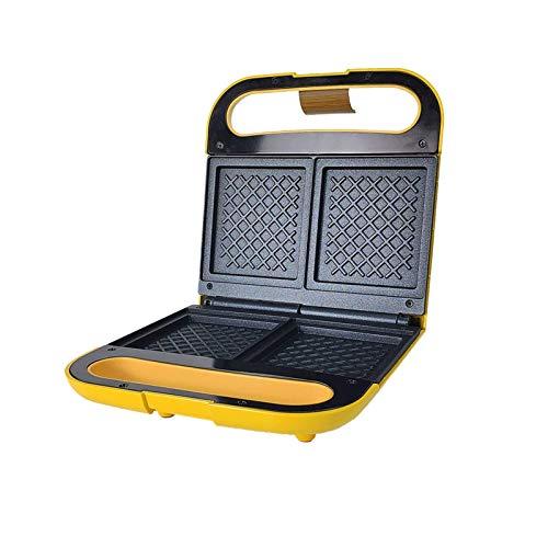 zyl Elektrischer Eierkocher Macht Omeletts gebratene pochierte und Rühreier Antihaft-Pfanne & Cool Touch-Griff Easy Clean 700W (Farbe: Gelb)