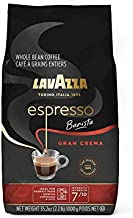 Lavazza Espresso Barista Gran Crema Whole Bean Coffee Blend, Medium Espresso Roast, Oz Bag (Packaging May Vary) Barista Gran Crema - 2.2 LB, 35.2 Ounce
