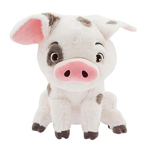 TLLY Vaiana Puppe Schwein Kuscheltier,Haustier Schwein Pua Stich Kuscheltier Kissen, niedlichen Cartoon Plüsch Spielzeug Puppen Kinder Geschenk für Geburtstag Weihnachten