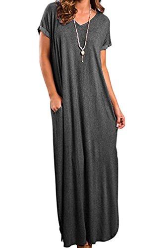 Vestidos Mujer Casual Bohemios Playa Largos Verano Vestido B
