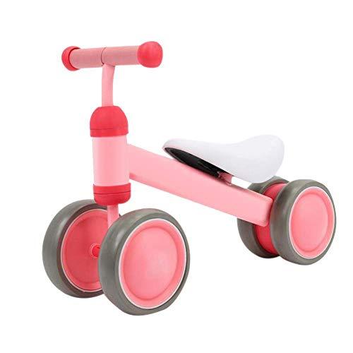 HFJKD Kinder Allrad Balance Fahrrad Baby Walker 1-3 Jahre Kinder Roller Keine Pedal Balance Auto Baby Spielzeug Geschenk Wassermelone Rot