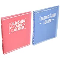 サンノート トレーディングカードホルダー 120ポケット 1288 2色×各5冊セット