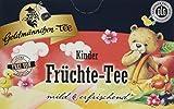 Goldmännchen Kinder Früchtetee, 20 einzeln versiegelte Teebeutel, 3er Pack (3 x 45 g)
