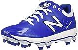 New Balance Men's 4040 V5 TPU Molded Baseball Shoe, Royal/White, 13 W US