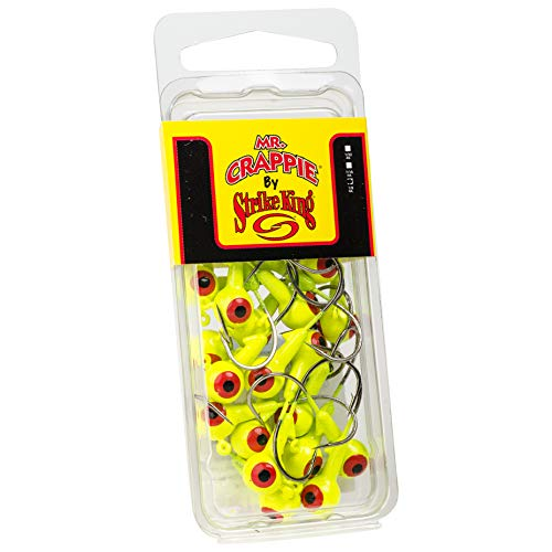 Strike King MRCJH25PK132-1 Mr. Fishing Jig Chartreuse, 1/32oz