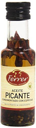 Ferrer - Aceite picante condimentado con especias, 125 ml