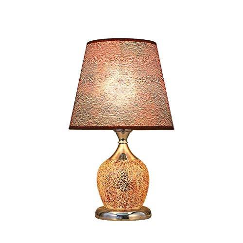 Chenbz Lampes de table, personnalité simple lampe Chambre à coucher, Chaud Chambre Lumière de nuit Chambre moderne Jardin européenne décoratif mariage lecture Veilleuse