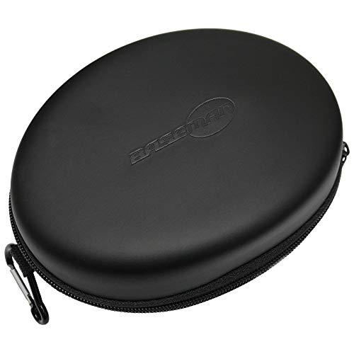 Baseman Headphone Case for iJoy Zihnic LETSCOM Mpow 059 H5 H12 H17 H20 and More Foldable Headphones of Other Brands, Storage Travel Carrying Case Bag for Wired or Bluetooth Headphones Over-Ear On-Ear