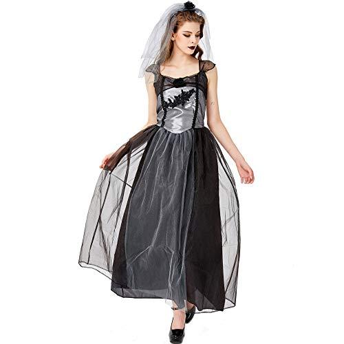 XIEPEI 2019 Halloween-Kostüm Vampirbraut Gr. Small, Farbe