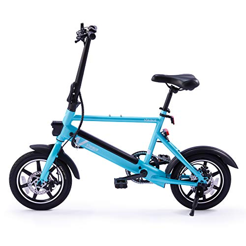 """Viribus 14"""" Electric Bike with Folding Pedals and Handlebar 