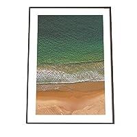 FASHION POSTER(ファッションポスター) B2(約52cm×73cm) ポスター(マット) ポスターのみ 北欧 波 サーフ 浜辺 サンセット 海 空 夕日 カリフォル(fg-poster-629-b2B2matt)