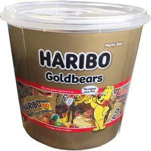 HARIBO ハリボー ミニゴールドベア バケツ 大容量980g パーティーボックス