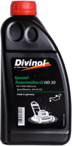 Divinol Spezial-Rasenmäheröl HD SAE 30 - 1x1 Liter 4-Takt Öl