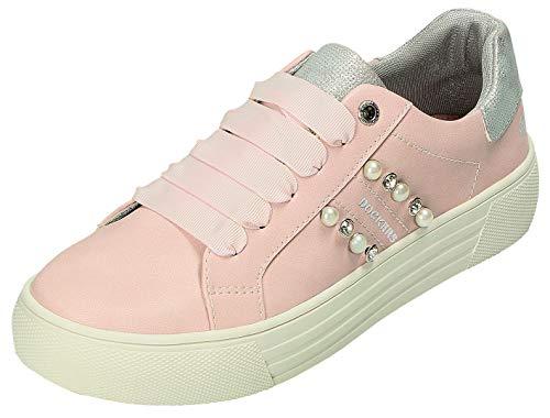 Dockers by Gerli Halbschuhe D.Sneaker in rosa, Größe 42.0,
