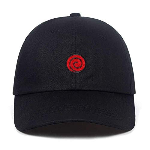 LGQBH Alpine Hut aus 100% Baumwolle Hut Vater Whirlpool Familie Muster Baseballmütze schwarzen Hut Reentry Tropfen gestickt (Color : Whirlpool)